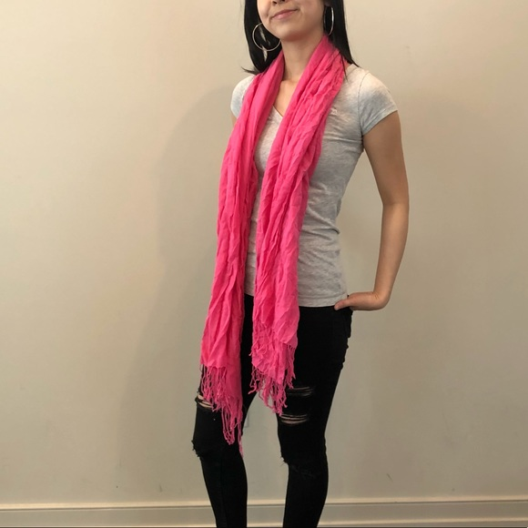 Hollister Accessories - Hot Pink Scarf